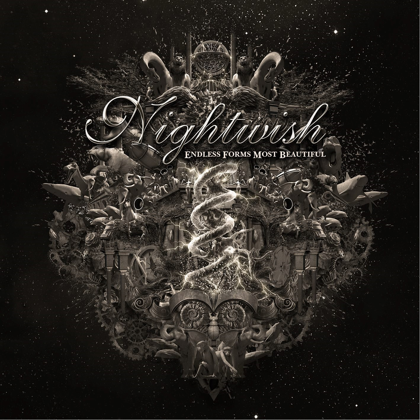 Nightwish: Endless Forms Most Beautiful (2 CD) nightwish endless forms most beautiful 2 cd