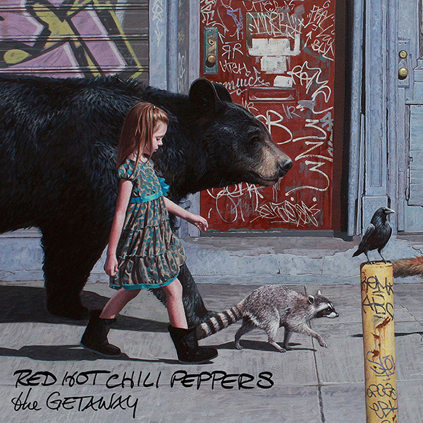 Red Hot Chili Peppers: The Getaway (CD) red hot chili peppers red hot chili peppers the getaway 2 lp