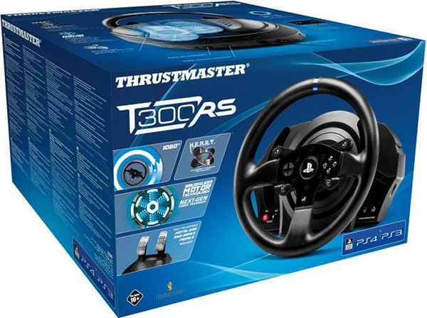 Гоночный руль Thrustmaster T300 RS EU Version для PS4 / PS3 / PC