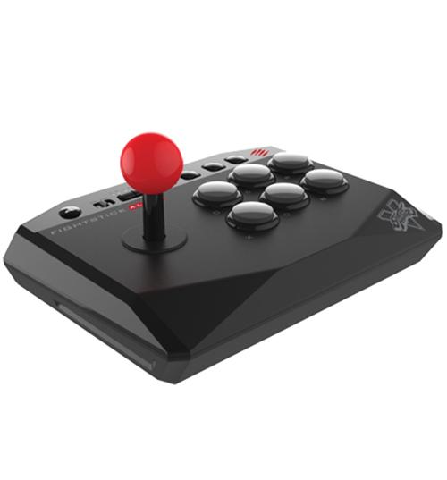 Аркадный стик Mad Catz Street Fighter V Alpha для PS4Представляем вашему вниманию официально лицензированный аркадный стик Mad Catz Street Fighter V Alpha, который перенял все основные черты большого аркадного джойстика – но в компактном корпусе с эргономично размещенными аркадными кнопками. Настоящее погружение в мир аркадных игр!<br>
