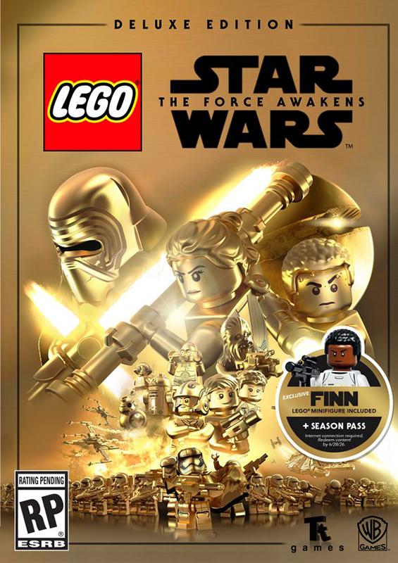 LEGO Звездные войны: Пробуждение силы. Deluxe Edition [PC, Цифровая версия] (Цифровая версия) dragon ball xenoverse 2 deluxe edition [pc цифровая версия] цифровая версия