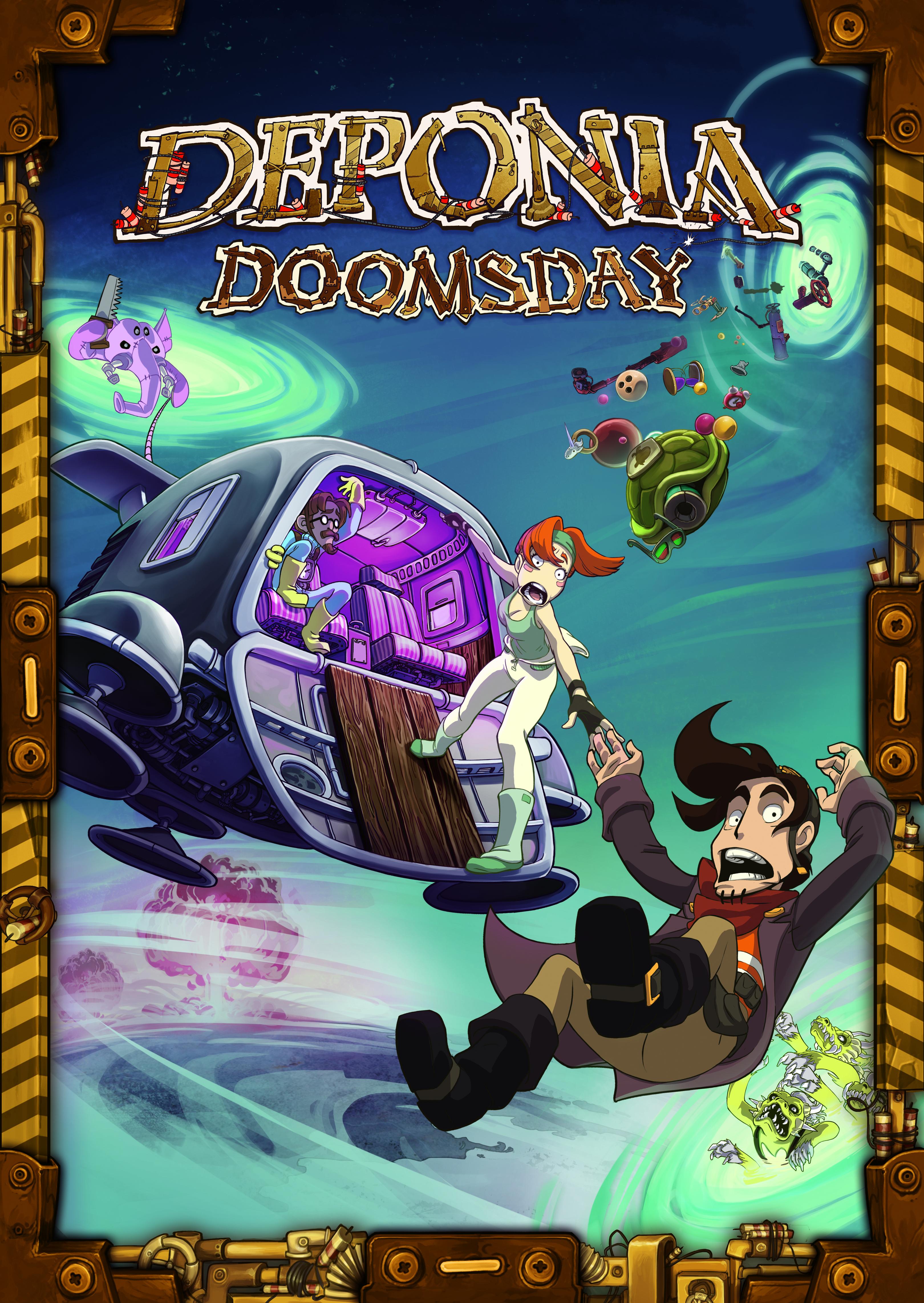 Deponia Doomsday (Цифровая версия)В игре Deponia Doomsday в одну роковую ночь Руфус проснулся от жуткого кошмара: в нем он принес себя в жертву во имя спасения Депонии.<br>
