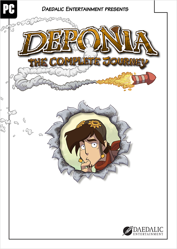 Deponia: The Complete Journey [PC, Цифровая версия] (Цифровая версия)
