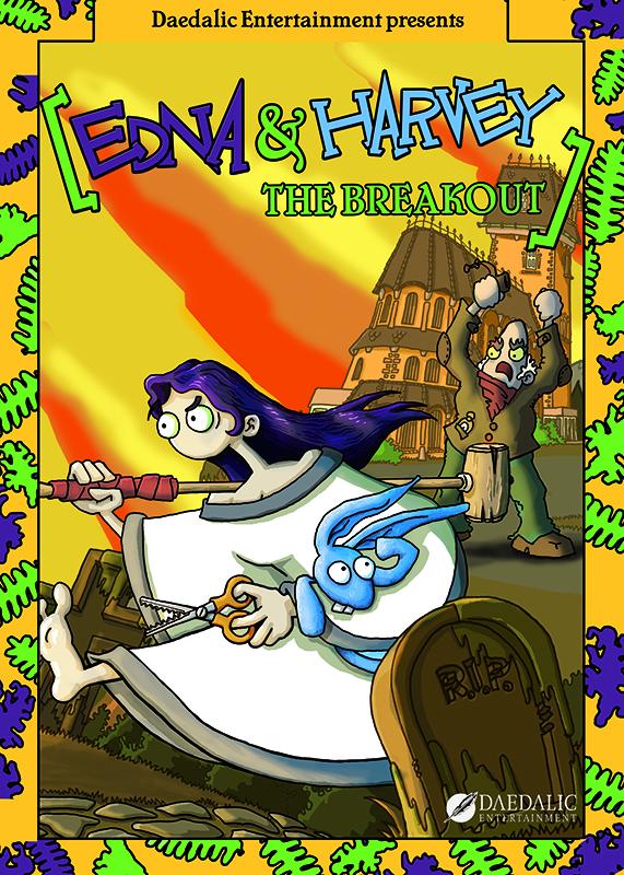 Edna &amp; Harvey: The Breakout [PC, Цифровая версия] (Цифровая версия)Edna &amp; Harvey: The Breakout – это дебютная игра от создателей популярных приключенческих хитов «Ускользающий мир» и Deponia.<br>