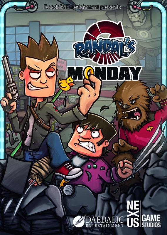 Randals Monday (Цифровая версия)В игре Randals Monday – это безумное (хотя и весьма классическое) путешествие сквозь пространство и время, приправленное кучей отсылок к гик-культуре последних 30 лет.<br>