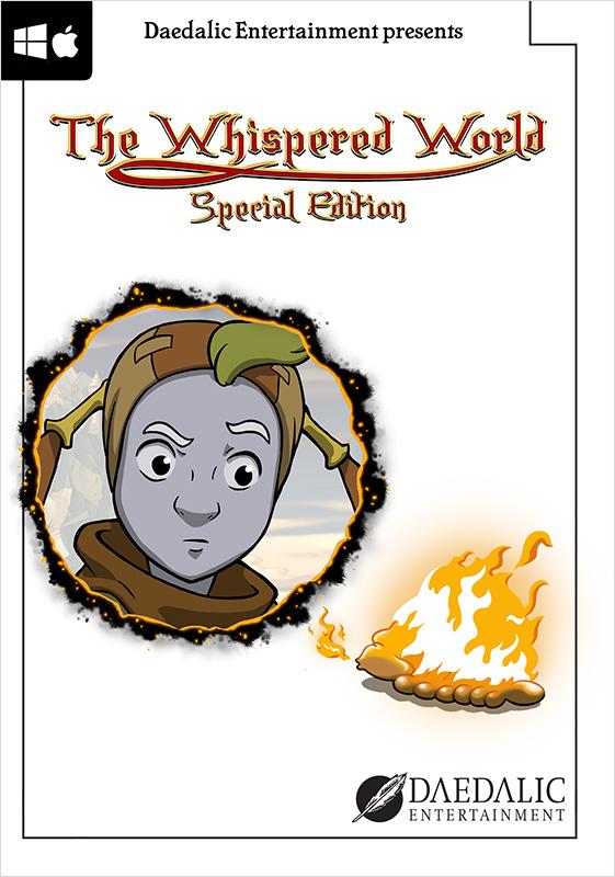 The Whispered World (Ускользающий мир). Special Edition  (Цифровая версия)Главный герой  The Whispered World. Special Edition &amp;ndash; юный клоун по имени Седвик. Меланхоличный и задумчивый мальчик больше всего любит путешествовать и исследовать свой прекрасный, полный загадок мир.<br>