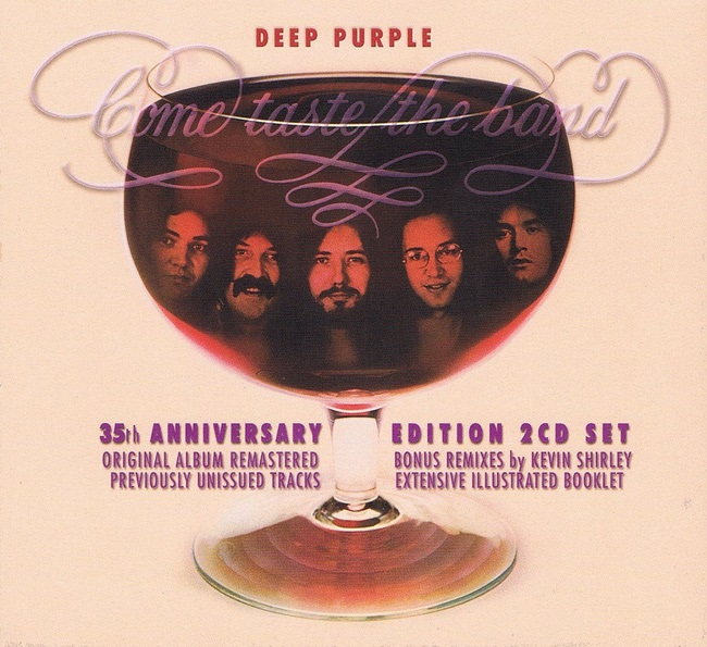 Deep Purple. Come Taste The Band (LP) purple rain lp cd