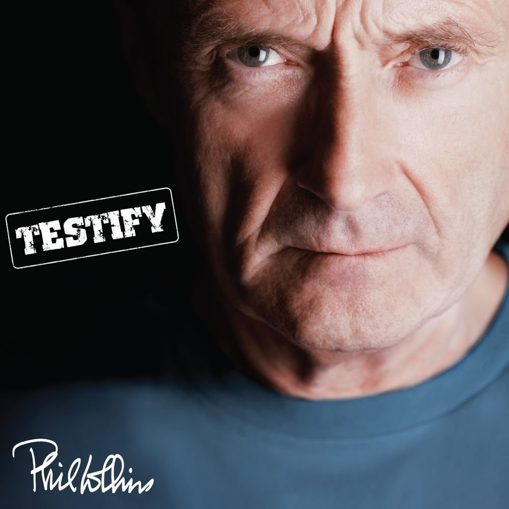 Phil Collins. Testify (2 LP) cd phil collins the essential going back