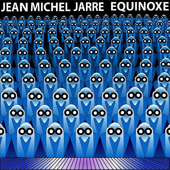 Jean Michel Jarre. Equinoxe (LP) cd jean michel jarre cities in concert houston lyon