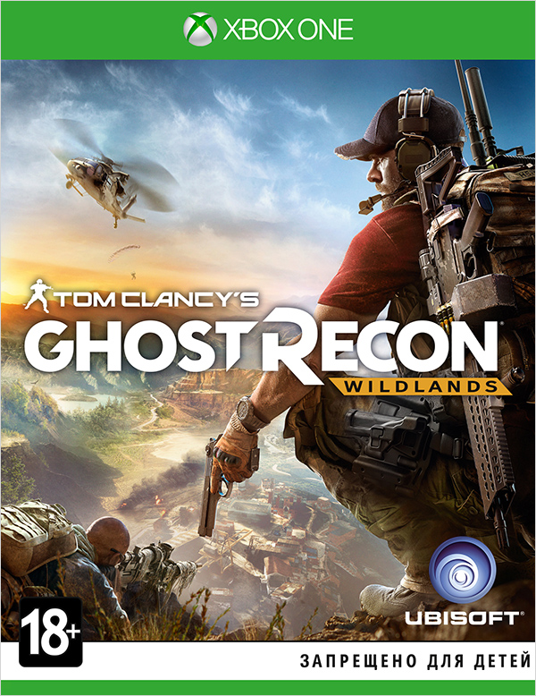 Tom Clancys Ghost Recon: Wildlands [Xbox One]Tom Clancy's Ghost Recon Wildlands поднимает серию на новый уровень. Будучи разработанной с нуля для нового поколения, игра может похвастаться великолепной графикой, открытым миром и возможностью сетевого совместного прохождения для четырех человек.<br>