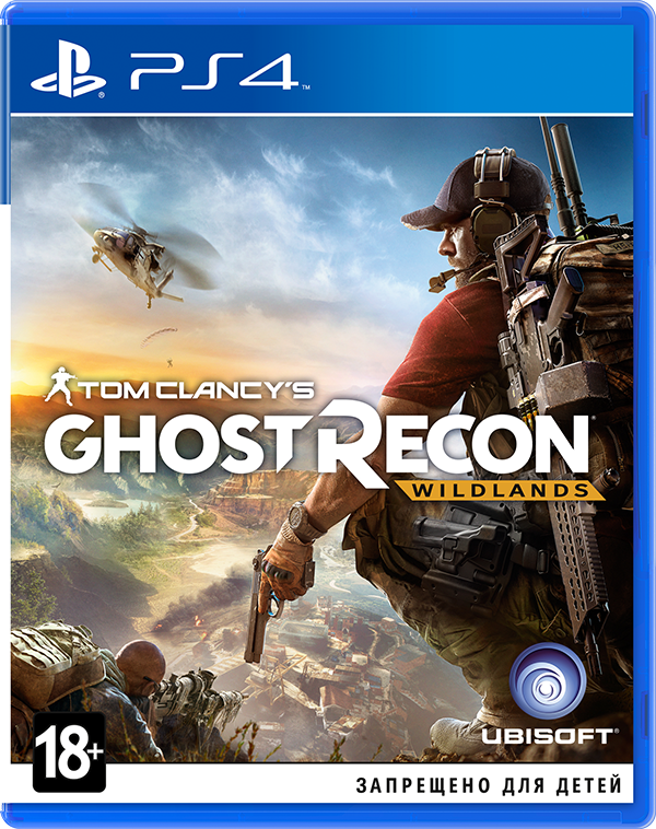 Tom Clancys GhostRecon:Wildlands[PS4]Tom Clancy's Ghost Recon Wildlands поднимает серию на новый уровень. Будучи разработанной с нуля для нового поколения, игра может похвастаться великолепной графикой, открытым миром и возможностью сетевого совместного прохождения для четырех человек.<br>