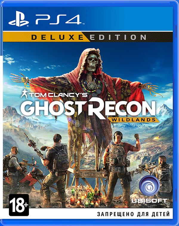 Tom Clancys Ghost Recon: Wildlands. Deluxe Edition [PS4]Сделайте предзаказ на игру Tom Clancys Ghost Recon: Wildlands до 17:00 часов 3 марта 2017 года и получите скидку 500 рублей, а также дополнительную миссию на 45 минут «Перуанский контакт» в подарок<br>