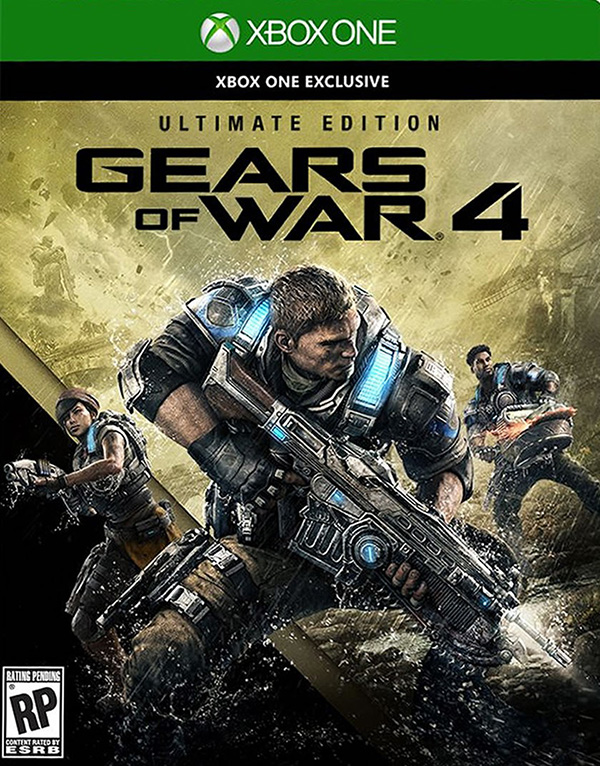 Gears of War 4. Ultimate Edition [Xbox One] xbox one gears of war 4 ultimate