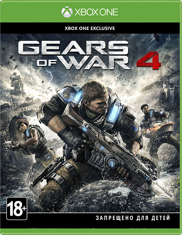 Gears of War 4 [Xbox One] майка классическая printio gears of war 2