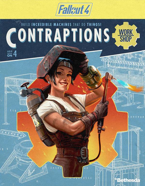 Fallout 4. Contraptions Workshop. Дополнение (Цифровая версия)В Fallout 4. Contraptions Workshop вы сможете использовать конвейерные ленты, комплекты лесов, наборы для дорожек и даже логические элементы, чтобы возводить сложные и необычные конструкции для улучшения поселений в Пустоши.<br>