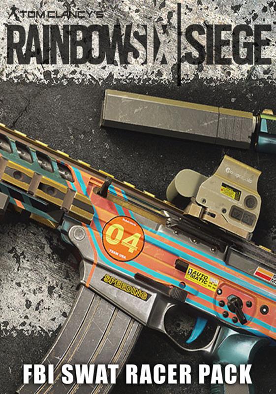 Tom Clancys Rainbow Six: Осада. FBI SWAT Racer Pack. Дополнительные материалы (Цифровая версия)Приобретая дополнение Tom Clancys Rainbow Six: Осада. FBI SWAT Racer Pack, вы получаете эксклюзивную раскраску Гонщик 04 для изменения внешнего вида вашего оружия FBI. Чтобы использовать, откройте снаряжение оперативника.<br>