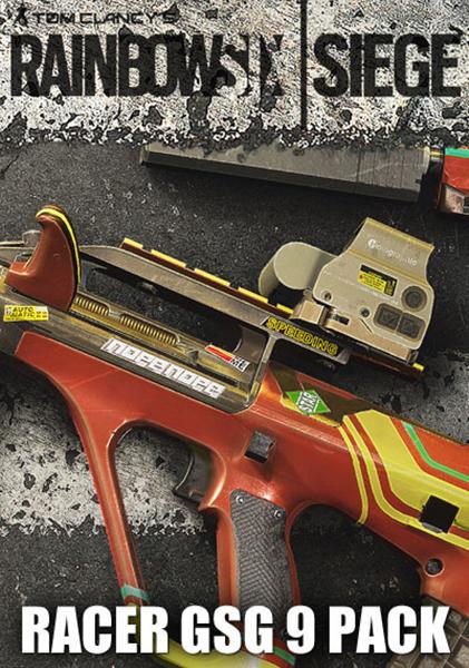 Tom Clancys Rainbow Six: Осада. Racer GSG9 Pack. Дополнительные материалы (Цифровая версия)Приобретая дополнение Tom Clancys Rainbow Six: Осада. Racer GSG9 Pack, вы получаете эксклюзивную раскраску Гонщик GSG 9 для изменения внешнего вида вашего оружия для американского подразделения. Откройте снаряжение и используйте ее для любого оружия оперативников GSG 9.<br>