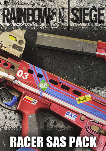 Tom Clancys Rainbow Six: Осада. Racer SAS Pack. Дополнительные материалы (Цифровая версия)Приобретая дополнение Tom Clancys Rainbow Six: Осада. Racer SAS Pack, вы получаете эксклюзивную раскраску Гонщик SAS для изменения внешнего вида вашего оружия для американского подразделения. Откройте снаряжение и используйте ее для любого оружия оперативников SAS.<br>