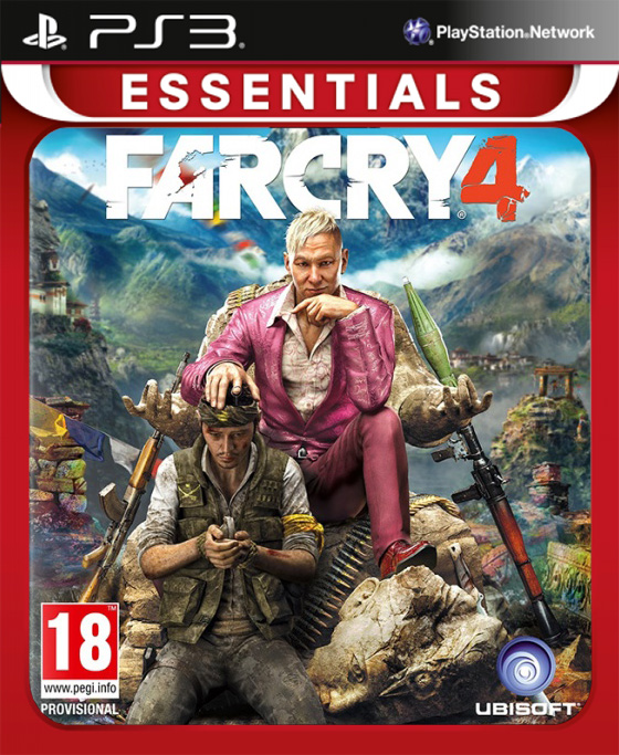Far Cry 4 (Essentials) [PS3] игра для xbox far cry 3 far cry 4
