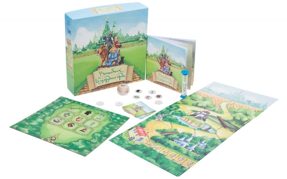Настольная игра Волшебник Изумрудного городаНастольная игра Волшебник Изумрудного города – одна из лучших семейных игр в Европе.<br>