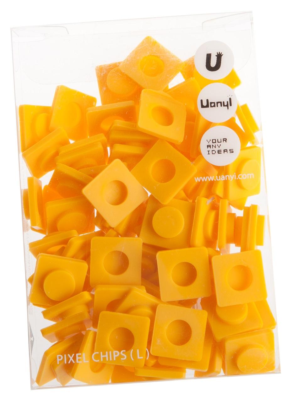 Пиксельные фишки Большие WY-P001 (Pixel Chips Large) (Желтый)