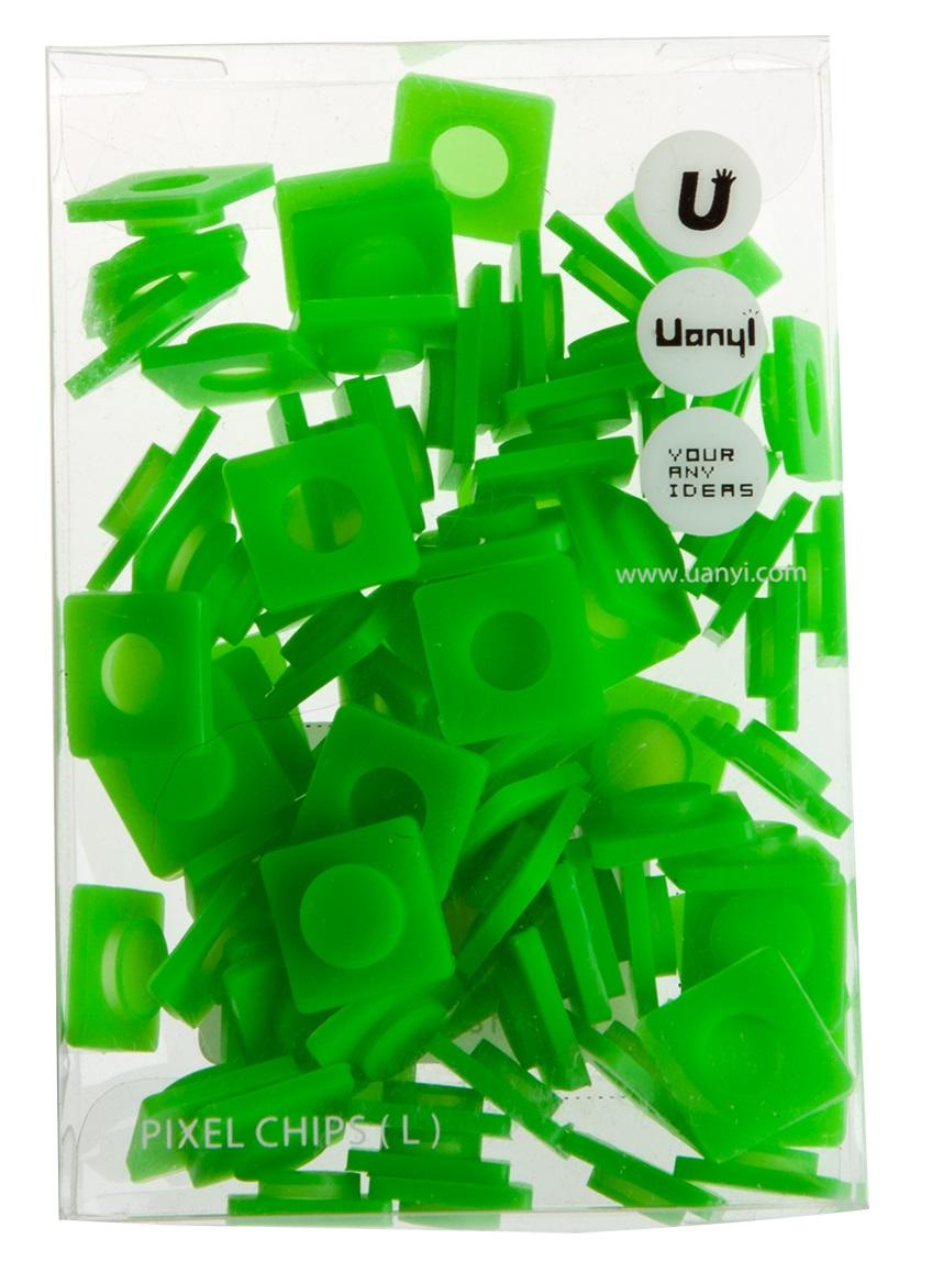 Пиксельные фишки Большие WY-P001 (Pixel Chips Large) (Травяной зеленый)