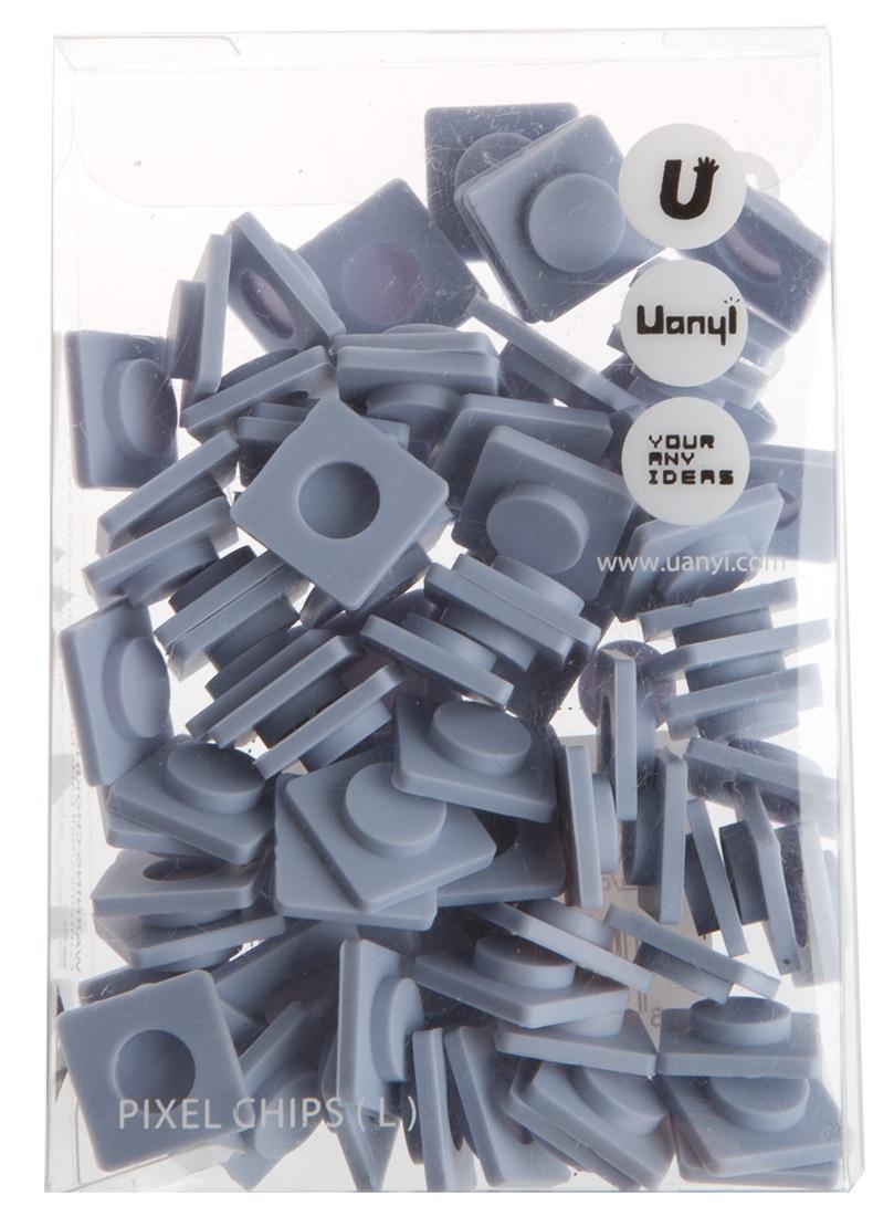 Пиксельные фишки Большие WY-P001 (Pixel Chips Large) (Небесно-синий)