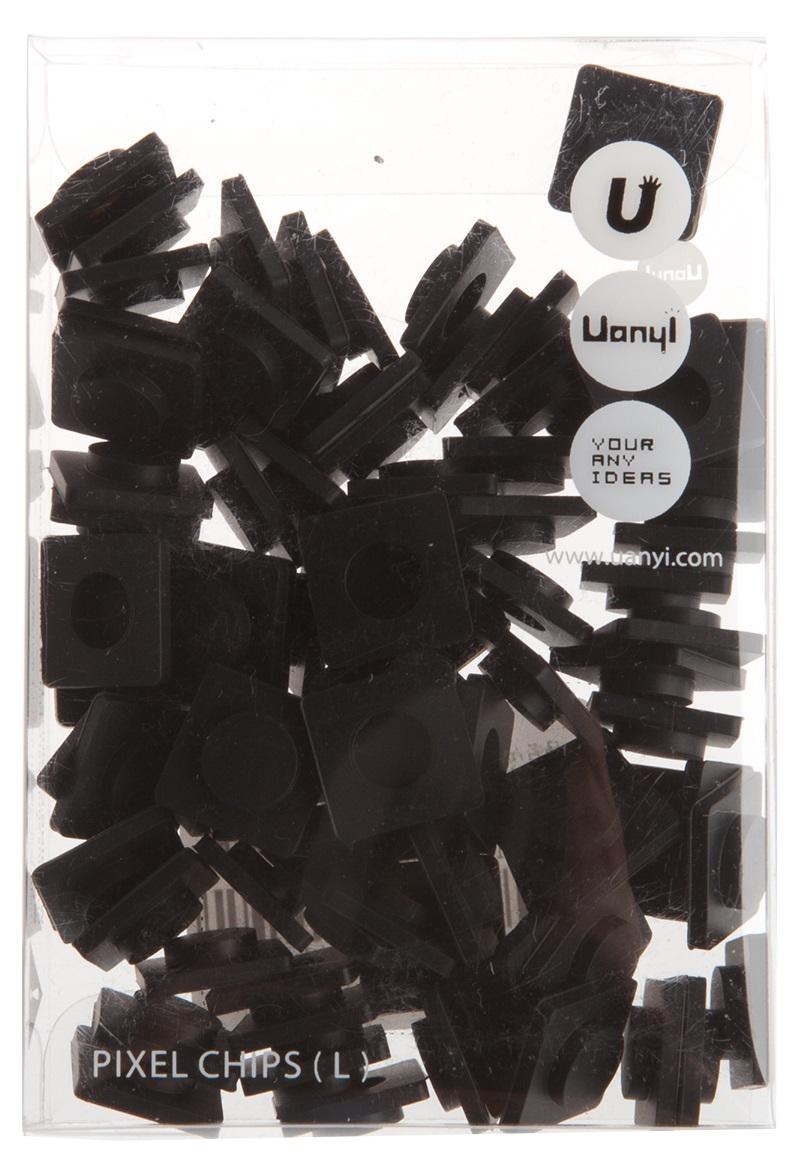 Пиксельные фишки Большие WY-P001 (Pixel Chips Large) (Черный)