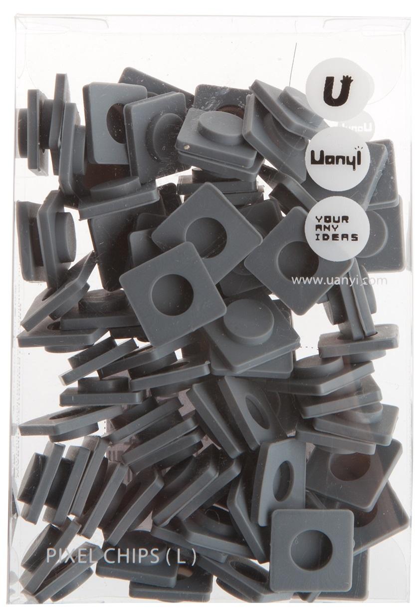 Пиксельные фишки Большие WY-P001 (Pixel Chips Large) (Светло-серый)