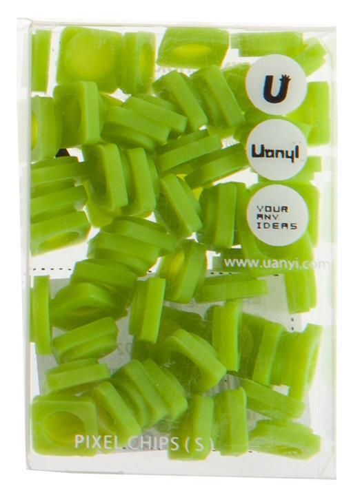 Пиксельные фишки Маленькие WY-P002 (Pixel Chips Small) (Мятный зеленый)