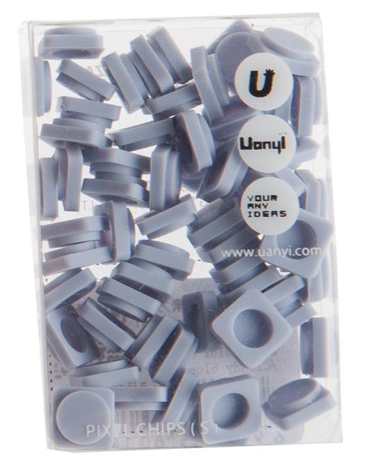 Пиксельные фишки Маленькие WY-P002 (Pixel Chips Small) (Небесно-синий)