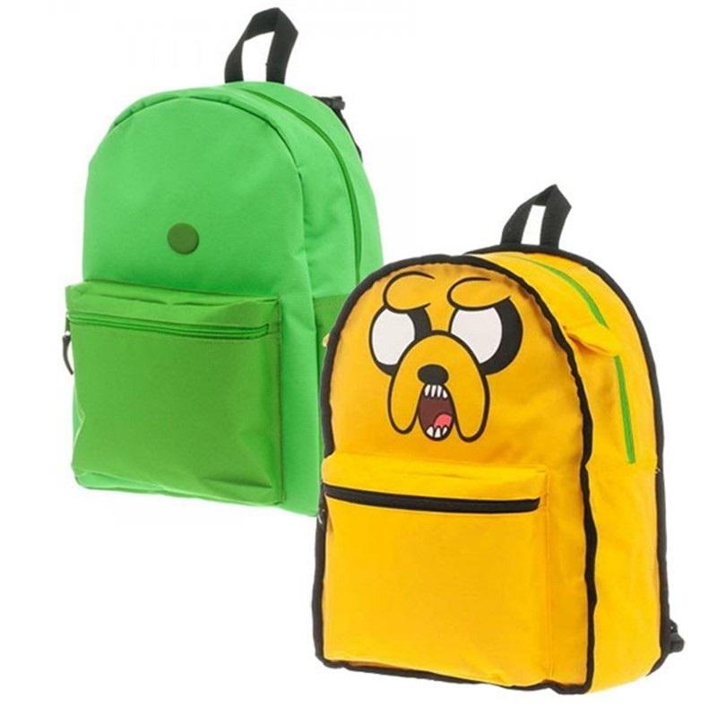 Рюкзак Adventure Time. Finns Bag &amp; Jake ReversibleПредставляем вашему вниманию рюкзак двусторонний Adventure Time. Finns Bag &amp; Jake Reversible, созданный по мотивам одноименного мультсериала.<br>