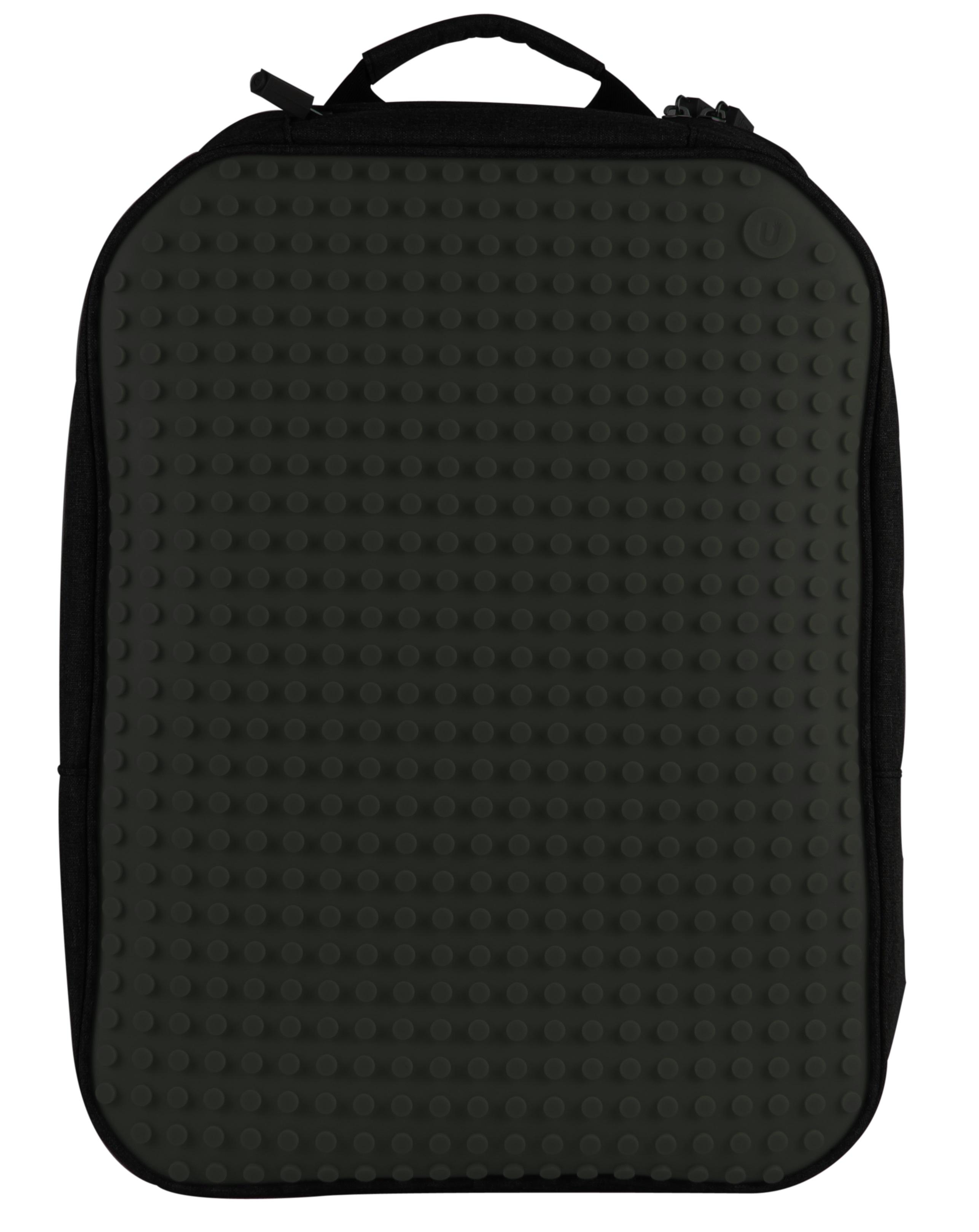Большой пиксельный рюкзак с ортопедической спинкой (Canvas classic pixel Backpack) WY-A001 (Черный)Большой пиксельный рюкзак с ортопедической спинкой, имеющий силиконовую панель, на которой с помощью «пикселей» в виде мозаики выкладывается абсолютно любой рисунок на ваш вкус и цвет, понравится взрослым и детям.<br>