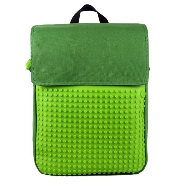 Пиксельный рюкзак (Canvas Top Lid pixel Backpack) WY-A005 (Зеленый/зеленый) #8560. пиксельный, рюкзак