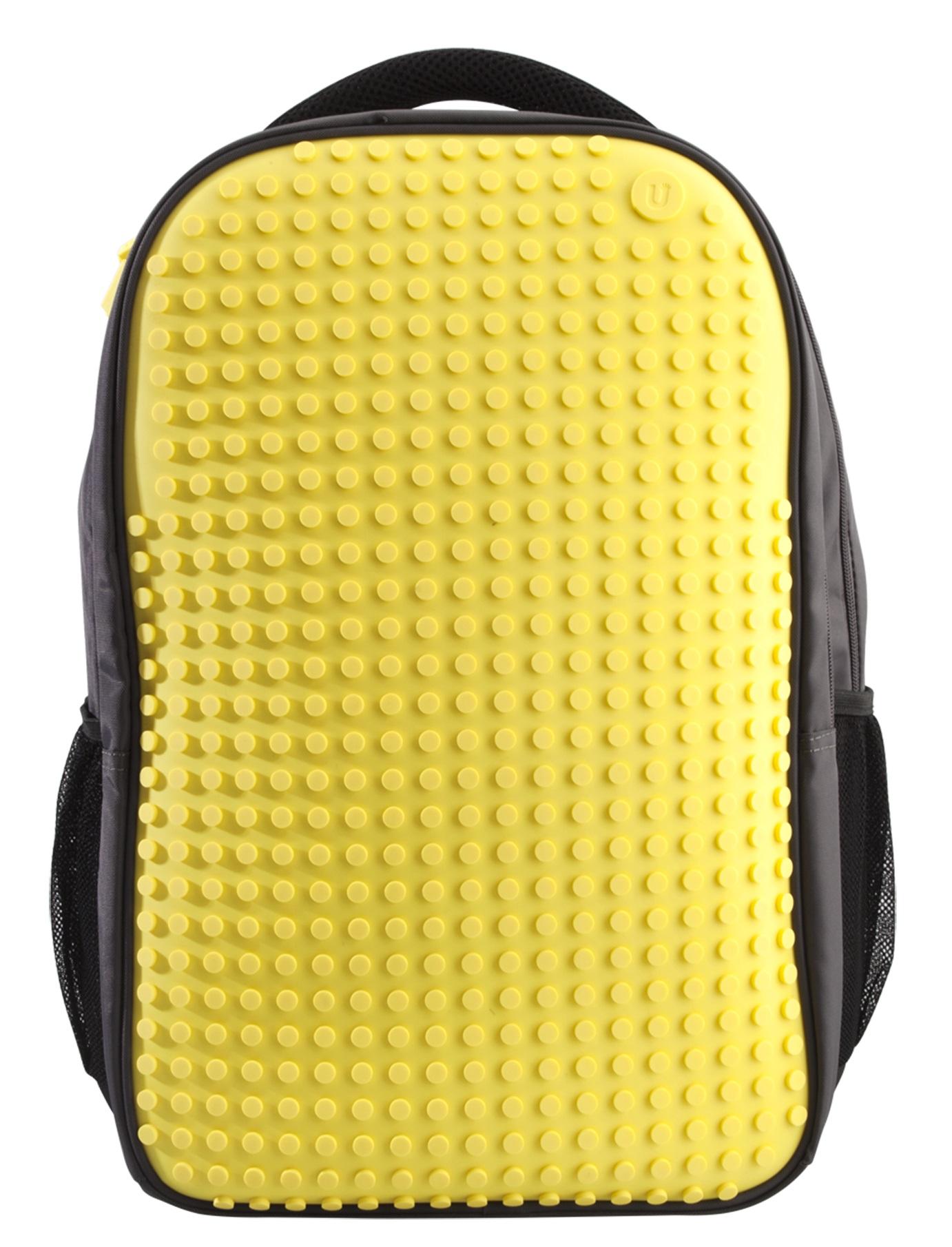 Пиксельный рюкзак для ноутбука (Full Screen Biz Backpack/Laptop bag) WY-A009 (Желтый) #8572. пиксельный, рюкзак