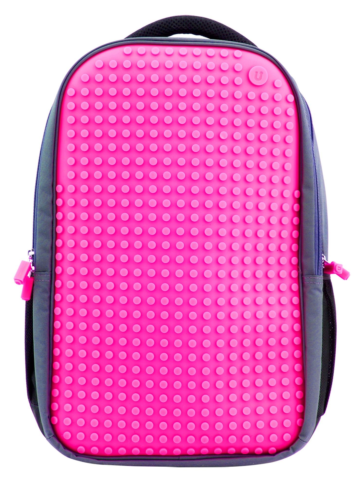 Пиксельный рюкзак для ноутбука (Full Screen Biz Backpack/Laptop bag) WY-A009 (Фуксия)Представляем вашему вниманию пиксельный рюкзак для ноутбука (Full Screen Biz Backpack/Laptop bag) WY-A009, имеющий силиконовую панель, на которой с помощью «пикселей» в виде мозаики выкладывается абсолютно любой рисунок.<br>