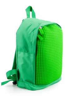 Мини рюкзак (MINI Backpack) WY-A012 (Зеленый/зеленый)Представляем вашему вниманию Мини рюкзак (MINI Backpack) WY-A012, имеющий силиконовую панель, на которой с помощью «пикселей» в виде мозаики выкладывается абсолютно любой рисунок.<br>