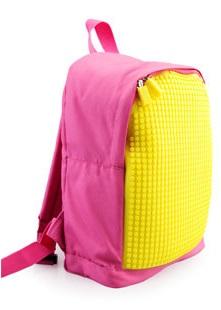 Мини рюкзак (MINI Backpack) WY-A012 (Розовый/желтый)Представляем вашему вниманию Мини рюкзак (MINI Backpack) WY-A012, имеющий силиконовую панель, на которой с помощью «пикселей» в виде мозаики выкладывается абсолютно любой рисунок.<br>