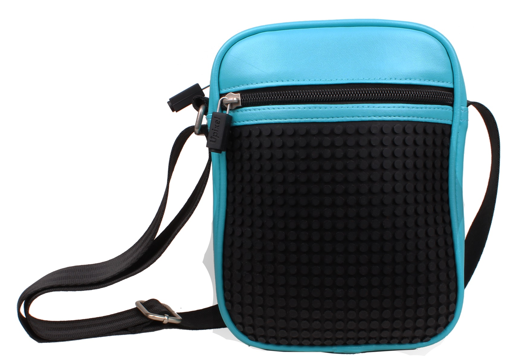Пиксельная сумка (Ambler shoulder bag) WY-A018 (Голубая)Представляем вашему вниманию пиксельную сумку (Ambler shoulder bag) WY-A018, имеющий силиконовую панель, на которой с помощью «пикселей» в виде мозаики выкладывается абсолютно любой рисунок.<br>