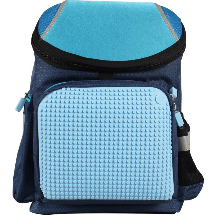 Школьный рюкзак (Super Class school bag) WY-A019 (Темно-синий) #8569. школьный, рюкзак