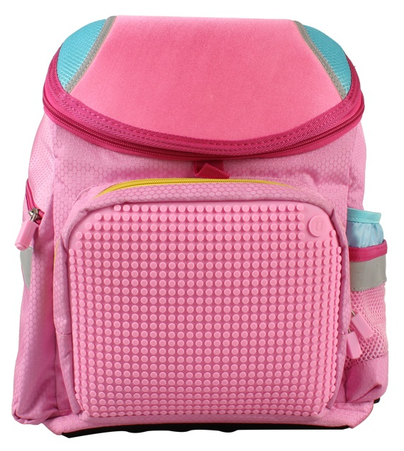 Школьный рюкзак (Super Class school bag) WY-A019 (Розовый)Представляем вашему вниманию школьный рюкзак (Super Class school bag) WY-A019, имеющий силиконовую панель, на которой с помощью «пикселей» в виде мозаики выкладывается абсолютно любой рисунок.<br>