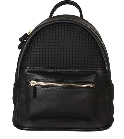 Мини рюкзак (Pocker Face Backpack) WY-A020 (Черный)Представляем вашему вниманию мини рюкзак (Pocker Face Backpack) WY-A020, имеющий силиконовую панель, на которой с помощью «пикселей» в виде мозаики выкладывается абсолютно любой рисунок.<br>