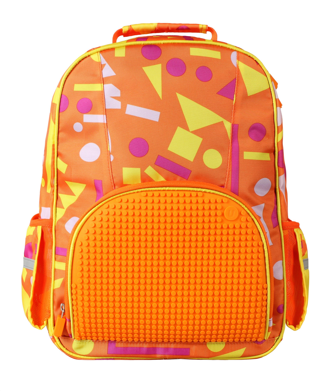 Школьный рюкзак (Geometry Neverland) WY-A022 (Оранжевый)Представляем вашему вниманию школьный рюкзак (Geometry Neverland) WY-A022, имеющий силиконовую панель, на которой с помощью «пикселей» в виде мозаики выкладывается абсолютно любой рисунок.<br>