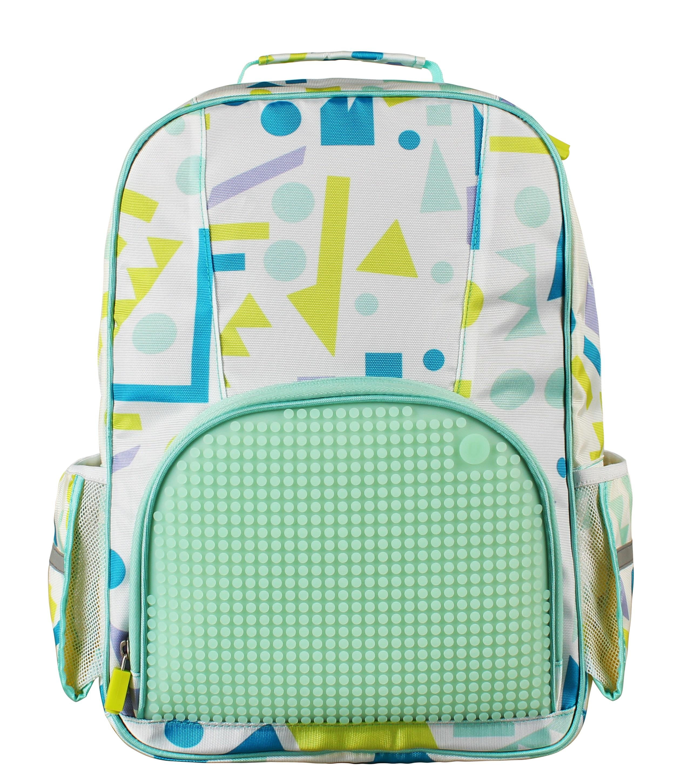 Школьный рюкзак (Geometry Neverland) WY-A022 (Холодная мята)Представляем вашему вниманию школьный рюкзак (Geometry Neverland) WY-A022, имеющий силиконовую панель, на которой с помощью «пикселей» в виде мозаики выкладывается абсолютно любой рисунок.<br>
