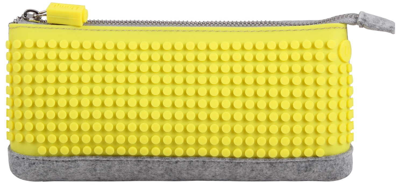 Пиксельный пенал (Pencil Case) WY-B002 (Желтый)Представляем вашему вниманию пиксельный пенал (Pencil Case) WY-B002, имеющий силиконовую панель, на которой с помощью «пикселей» в виде мозаики выкладывается абсолютно любой рисунок.<br>