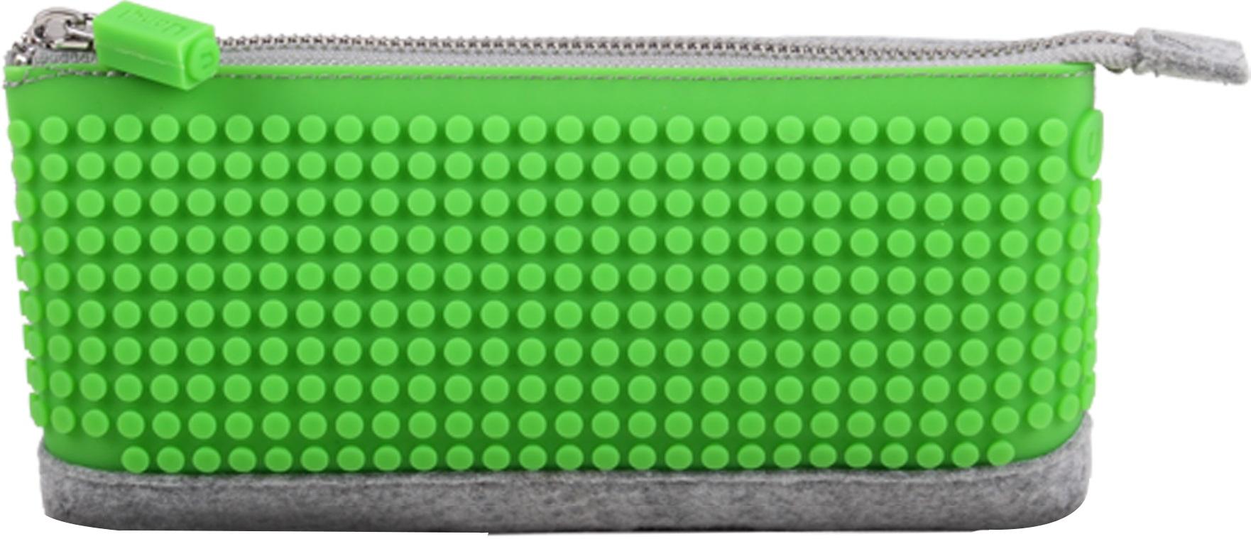 Пиксельный пенал (Pencil Case) WY-B002 (Зеленый)Представляем вашему вниманию пиксельный пенал (Pencil Case) WY-B002, имеющий силиконовую панель, на которой с помощью «пикселей» в виде мозаики выкладывается абсолютно любой рисунок.<br>