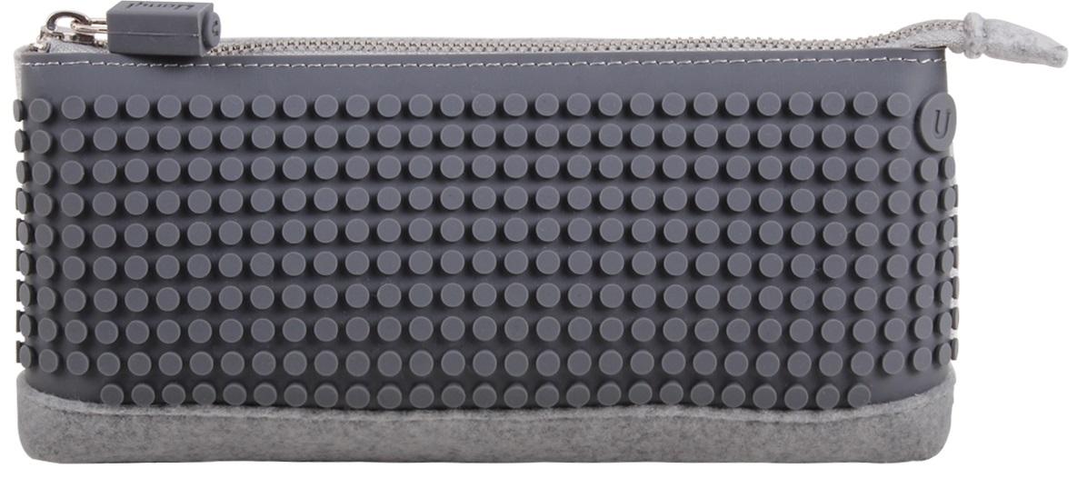 Пиксельный пенал (Pencil Case) WY-B002 (Серый)