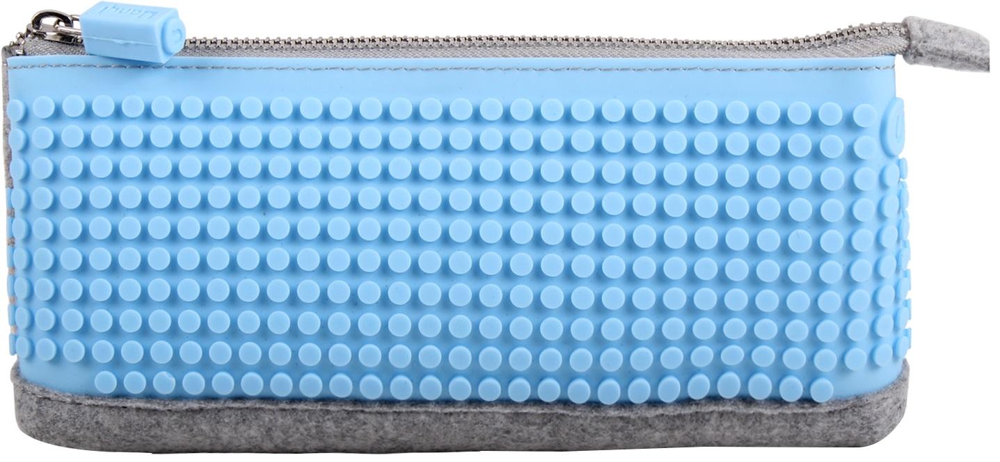 Пиксельный пенал (Pencil Case) WY-B002 (Голубой)