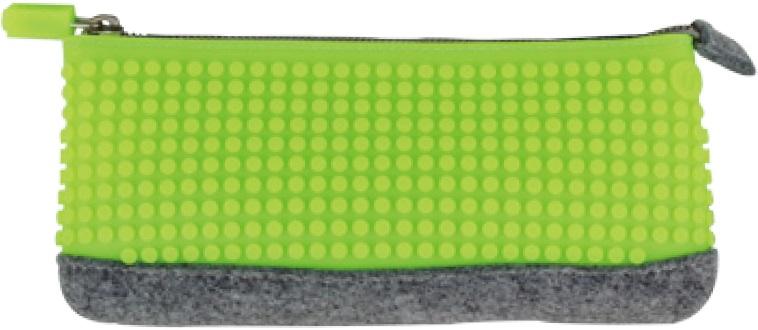 Пиксельный пенал (Pencil Case) WY-B002 (Зеленое яблоко)Представляем вашему вниманию пиксельный пенал (Pencil Case) WY-B002, имеющий силиконовую панель, на которой с помощью «пикселей» в виде мозаики выкладывается абсолютно любой рисунок.<br>