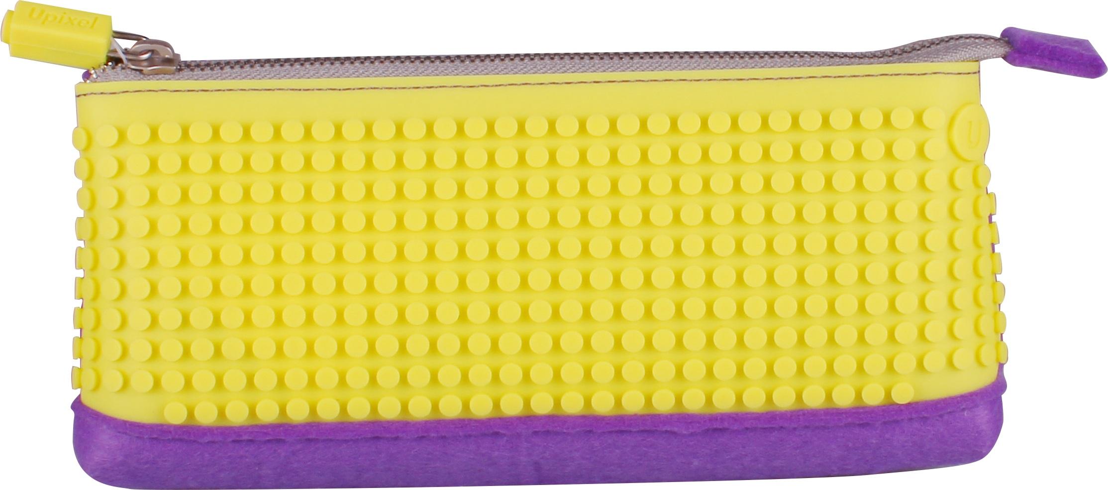 Пиксельный пенал (Pencil Case) WY-B002 (Фиолетовый/желтый)Представляем вашему вниманию пиксельный пенал (Pencil Case) WY-B002, имеющий силиконовую панель, на которой с помощью «пикселей» в виде мозаики выкладывается абсолютно любой рисунок.<br>